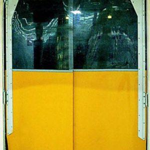 cortinas em pvc flexível, portas em abs portas de abs