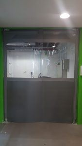 porta flexivel em pvc